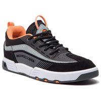 Sneakersy DC - Legacy 98 Slim S ADYS100435 Black/Orange/Grey (Xkns), kolor czarny