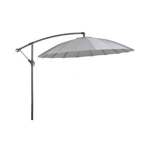 Parasol ogrodowy Ø268 cm ciemnoszary calabria ii marki Beliani