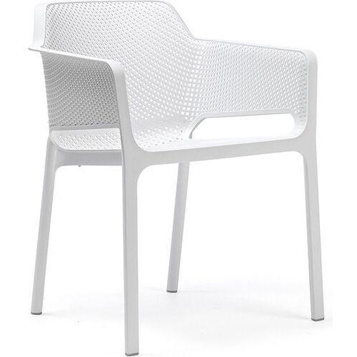 Krzesło ogrodowe net bianco marki Nardi