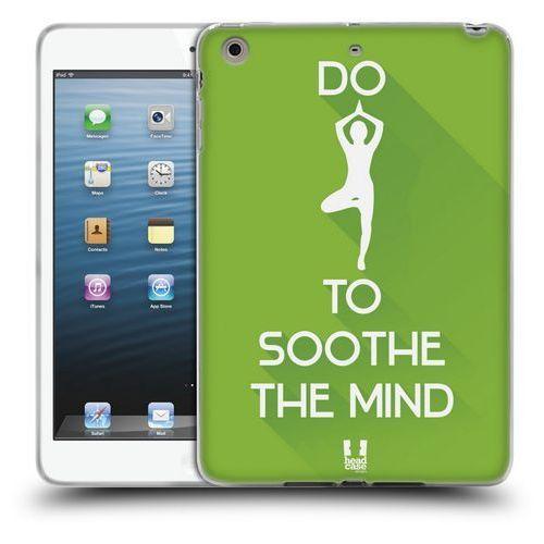 Etui silikonowe na tablet - Workout Inspirations Green Yoga - produkt z kategorii- Pokrowce i etui na tablety