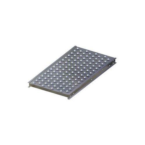 Stół kulowy, wys. konstrukcji 70 mm, szer. przenośnika 500 mm, dł. 1000 mm, podz marki Gura fördertechnik