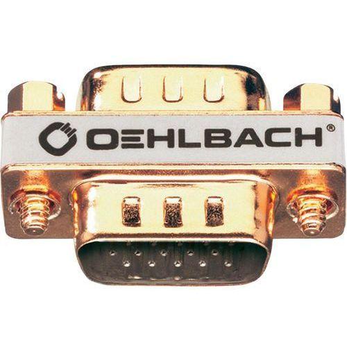 Przejściówka, adapter VGA Oehlbach 8628, [1x Złącze męskie VGA - 1x Złącze męskie VGA ], Pozłacane wtyczki z kategorii Akcesoria do TV