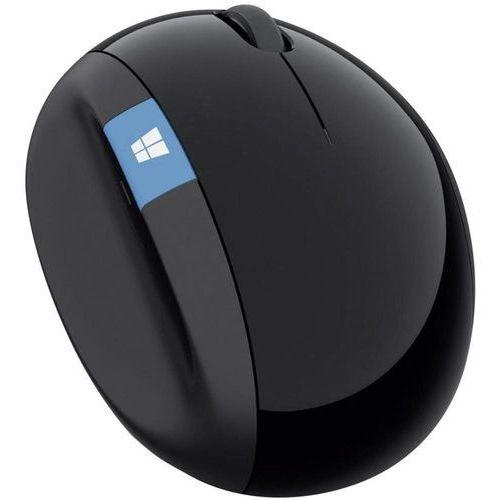 Mysz bezprzewodowa,  l6v-00003, optyczny, radiowa, czarny marki Microsoft