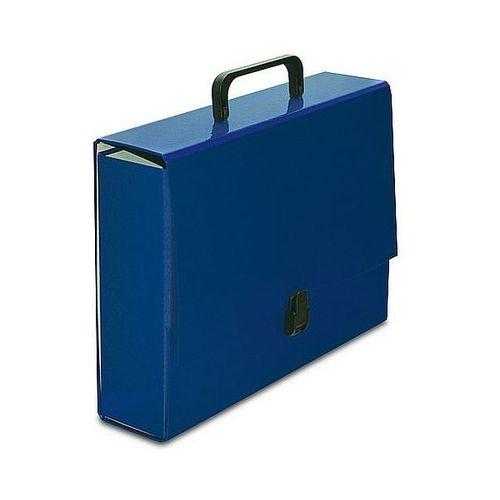 Teczka z rączką VauPe Classic II Large niebieska 305/03