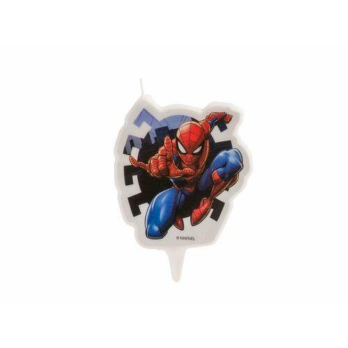 Świeczka urodzinowa Spiderman - 1 szt. (8435035227252)