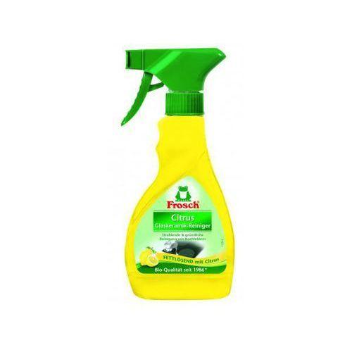 Preparat do czyszczenia płyt grzewczych FROSCH Cytrynowy spray do płyt ceramicznych i indukcyjnych 300 ml (9001531924996)