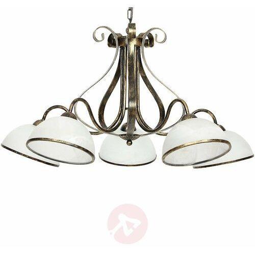 Luminex Lampa wisząca antica 5xe27/60w/230v