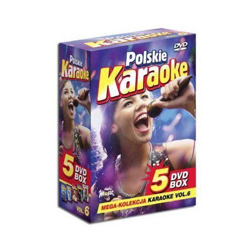 Polskie Karaoke VOL. 6 - Mega Kolekcja Karaoke (5 płyt DVD) z kategorii Pakiety filmowe