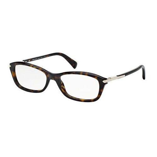Prada Okulary korekcyjne pr04pva asian fit 2au1o1
