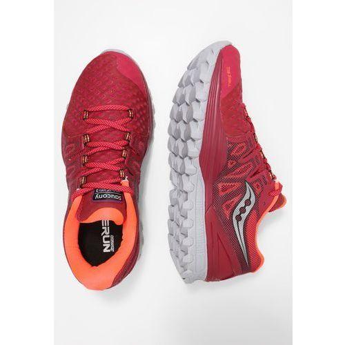 Saucony XODUS ISO 2 Obuwie do biegania Szlak berry/coral, kolor fioletowy