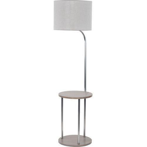 Lampa podłogowa stojąca tk lighting cleo 1x60w e27 szary 1097 marki Tklighting