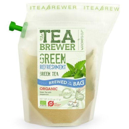 Herbata Zielona Miętowa 3g - Teabrewer EKO