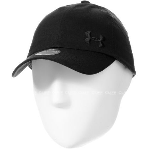 CZAPKA UNDER ARMOUR SOLID CAP, kolor czarny