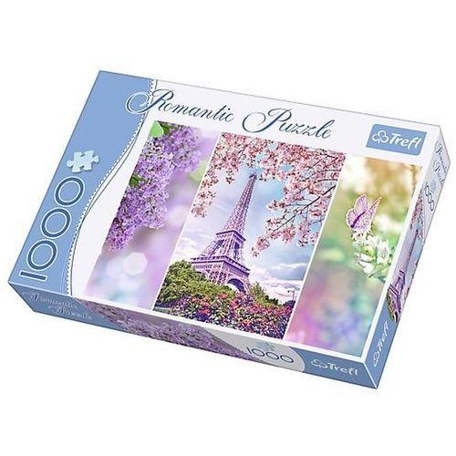 Puzzle 1000 elementów Romantic. Wiosna w Paryżu 10409 (5900511104097)