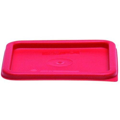 Cambro Pokrywka do pojemników na żywność, czerwona | , cm-sfc6451