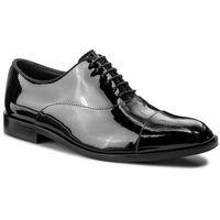 Emporio armani Półbuty - x4c421 xb571 k001 black/black