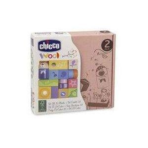 zestaw klocków drewnianych 23 el. marki Chicco