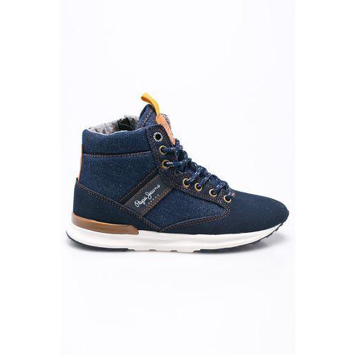 - buty dziecięce boston denim marki Pepe jeans