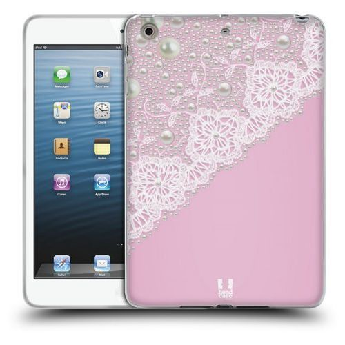 Head case Etui silikonowe na tablet - laces and pearls pink