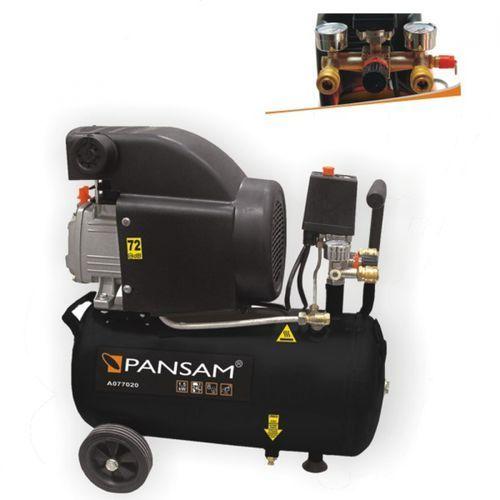 Kompresor olejowy PANSAM A077020 24 litry DARMOWY TRANSPORT