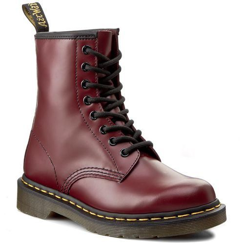 Glany - 1460 10072600 cherry red smooth marki Dr. martens