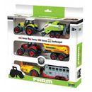 Trzy Traktory z przyczepami w pudełku, 5_612816
