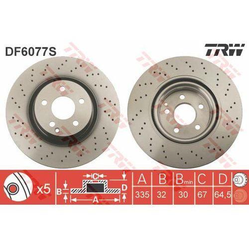 Trw Tarcza ham df6077s mercedes w221 s350 05-, s250 cdi 11-