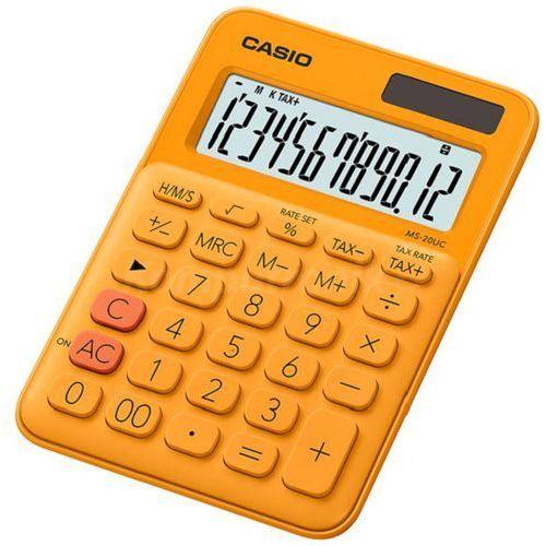 Casio Kalkulator ms-20uc-rg-s pomarańczowy (4549526700057)