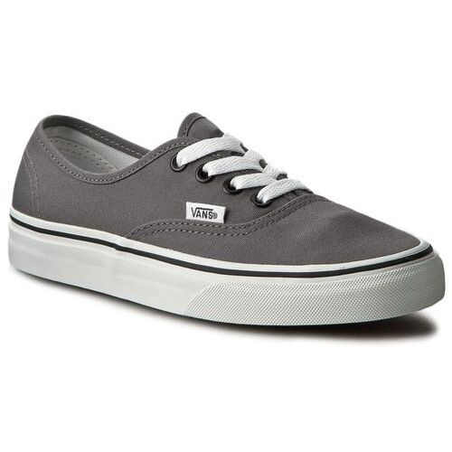 Tenisówki - authentic vn0jrapbq pewter/black, Vans, 35-47
