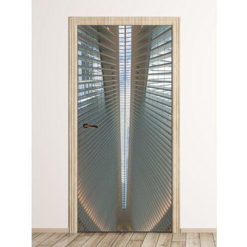 Fototapeta na drzwi fragment nowoczesnego budynku fp 6063 marki Wally - piękno dekoracji