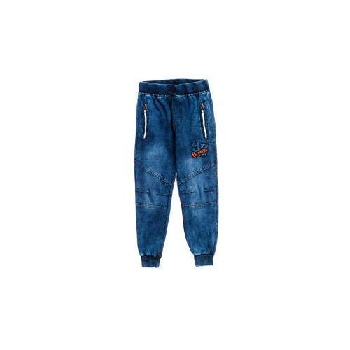 Happy house Spodnie jeansowe chłopięce granatowe denley hb1916