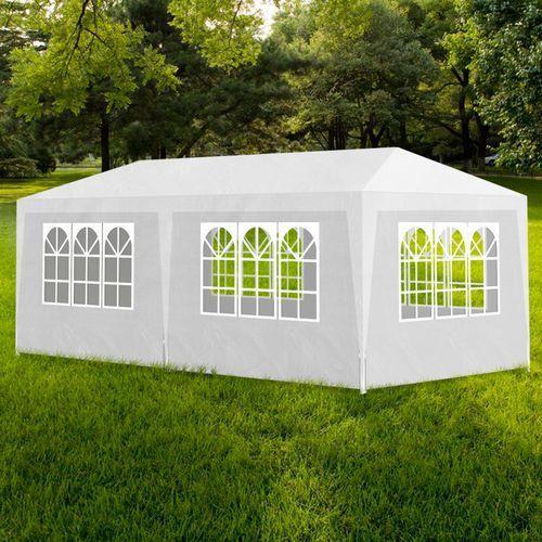vidaXL Namiot imprezowy, pawilon ogrodowy, biały (3x6) - sprawdź w wybranym sklepie