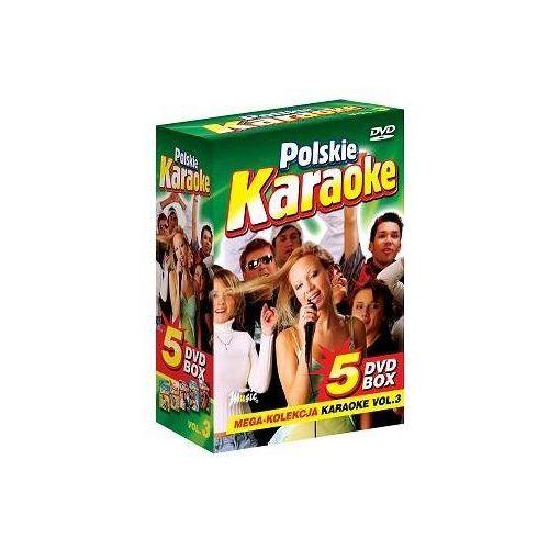 Polskie karaoke vol. 3 - mega kolekcja karaoke (5 płyt dvd) wyprodukowany przez Ryszard music