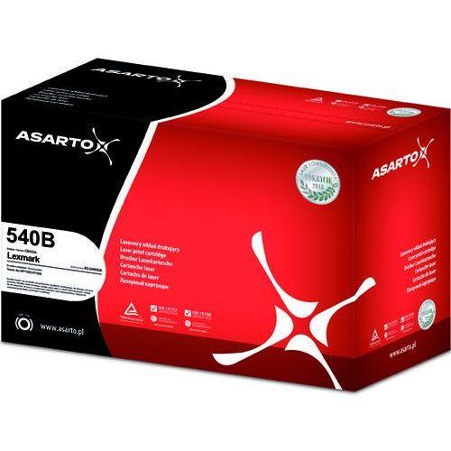 Toner AS-LL540B Black do drukarek Lexmark (Zamiennik Lexmark C540H1KG) [2.5k], AS-LL540B