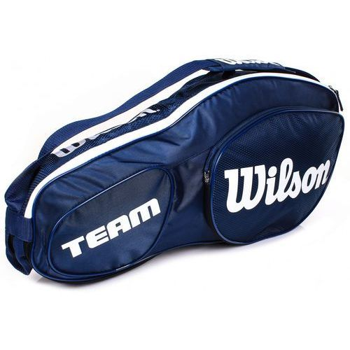Wilson team iii 3pack bag blue white