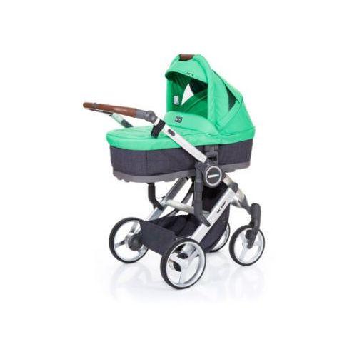 Abc design  wózek dziecięcy mamba plus street-grass, stelaż silver / siedzisko street (4045875038211)