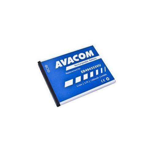 Bateria  pro samsung galaxy mini, li-ion 3,7v 1200mah (eb494353vu) marki Avacom