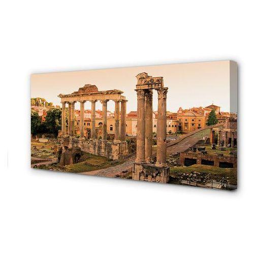 Obrazy na płótnie Rzym Forum Romanum wschód słońca