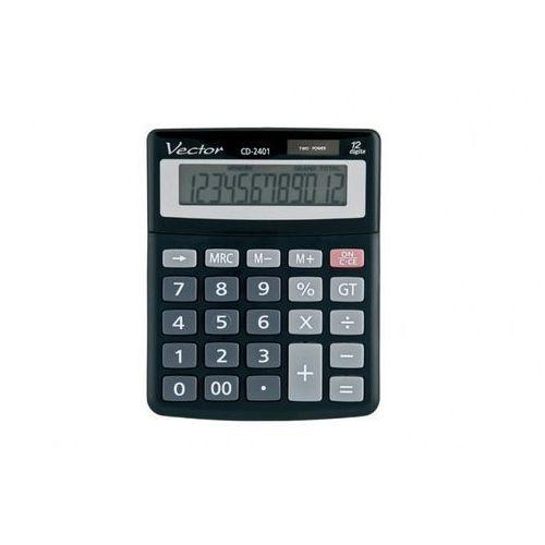 Kalkulator Vector CD-2401 - Autoryzowana dystrybucja - Szybka dostawa