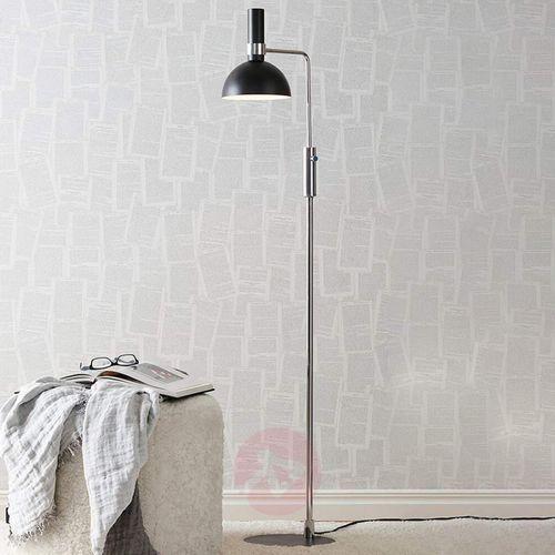 Lampa podłogowa larry floor black/brass 106857 - – rabat w koszyku marki Markslojd