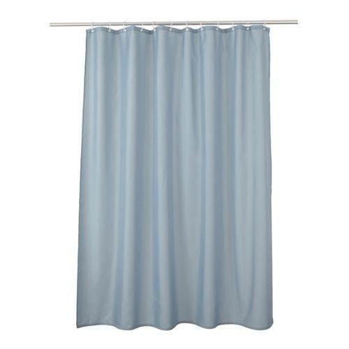 Zasłonka prysznicowa diani 180 x 200 cm niebieska marki Cooke&lewis