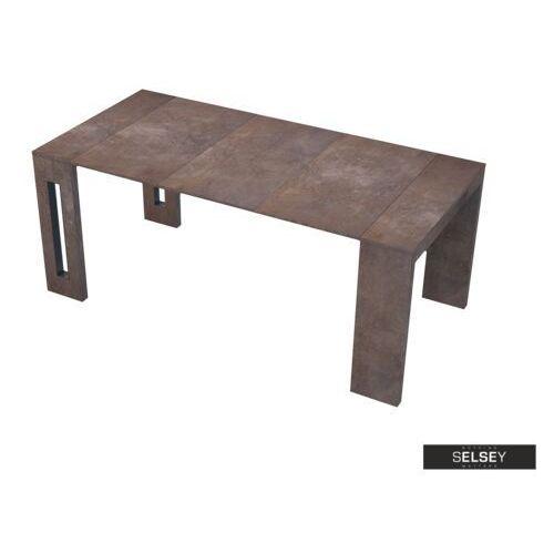 Selsey włoski stół rozkładany roma miedź (5900000040259)