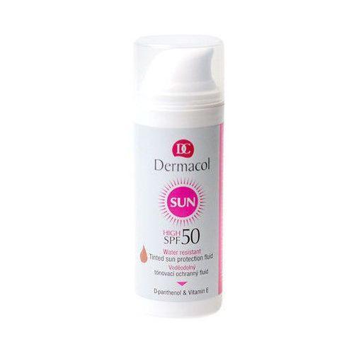 Dermacol - tinted water resistant fluid - spf 50 - wodoodporny podkład z filtrem spf 50 (8595003107495)