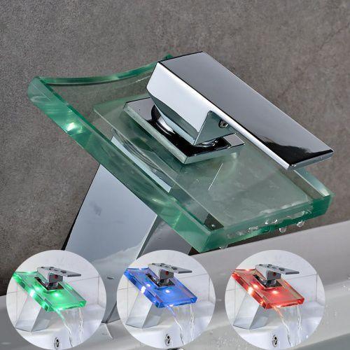 Bateria umywalkowa glas led marki Unikat