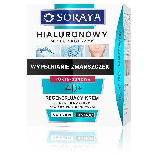 Soraya  hialuronowy mikrozastrzyk krem regenerujšcy 40+ na dzień i noc 50ml (5901045060200)