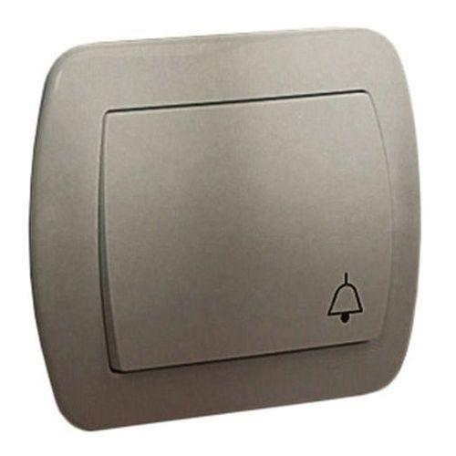 Kontakt simon Simon akord przycisk dzwonek 10ax, 250v~, zaciski śrubowe; satynowy ad1/29 wmal-490xxx-h012 (5902787598112)