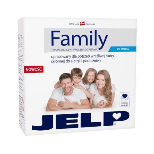 JELP 2,24kg Family Hipoalergiczny proszek do prania białych tkanin (32 prania)