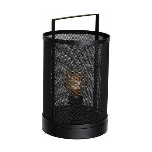 Luminex rim 1369 lampa stołowa lampka 1x60w e27 czarny (5907565913699)