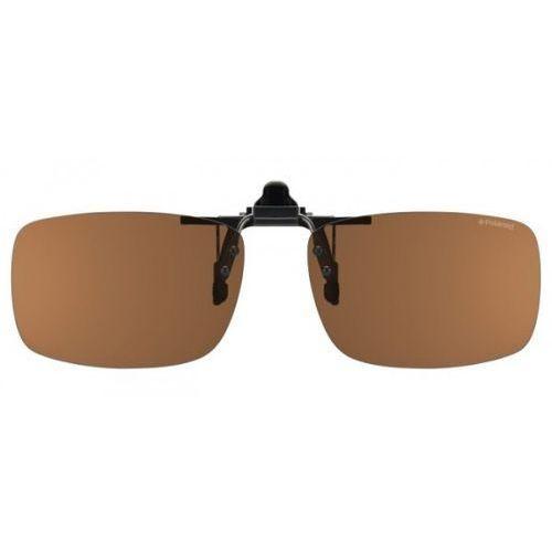 Okulary Słoneczne Polaroid PLD 0002 Clip-On Polarized DL5/HE, kolor żółty
