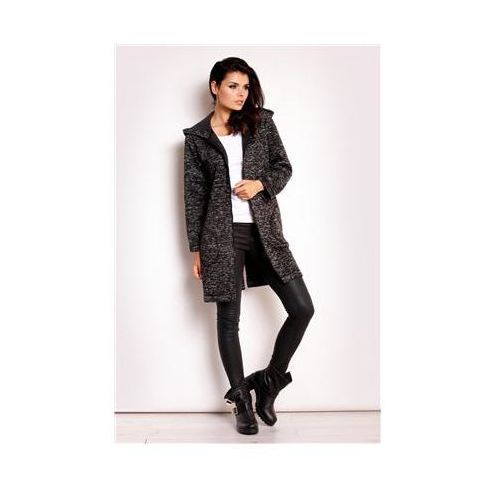 Płaszcz damski model m107 black, Infinite you